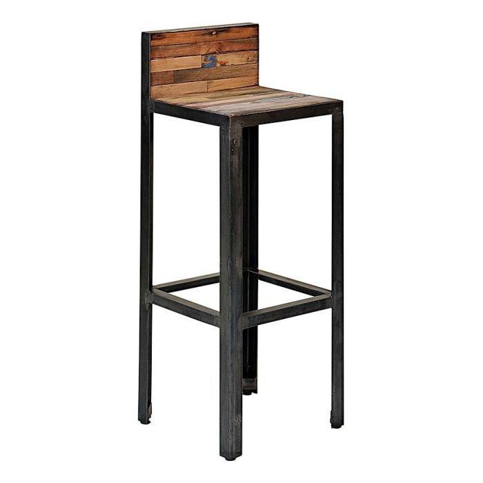 tabouret haut avec dossier pas cher id e pour la maison. Black Bedroom Furniture Sets. Home Design Ideas
