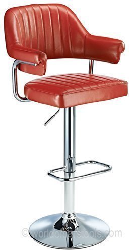 Tabouret de bar rouge amazon