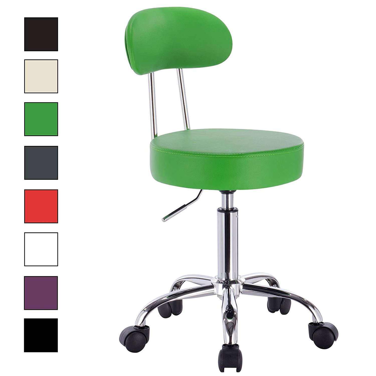 Tabouret a roulette top office