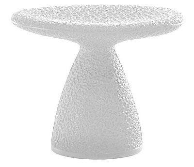 Tabouret bas design blanc