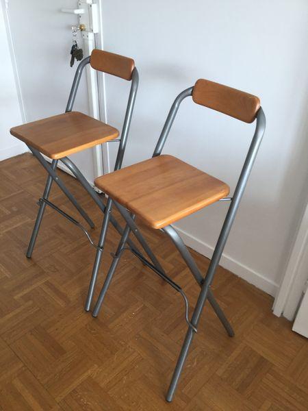 Tabouret Haut Pliable Ikea Idée Pour La Maison Et Cuisine