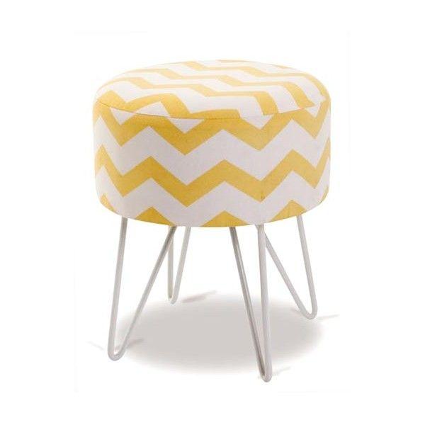 Tabouret scandinave jaune id e pour la maison et cuisine - Tabouret de cuisine design jaune ...