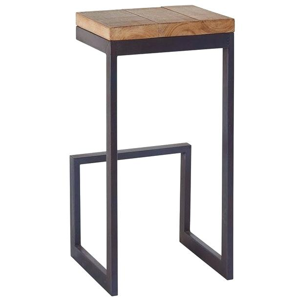 tabouret de bar en bois alinea id e pour la maison et. Black Bedroom Furniture Sets. Home Design Ideas