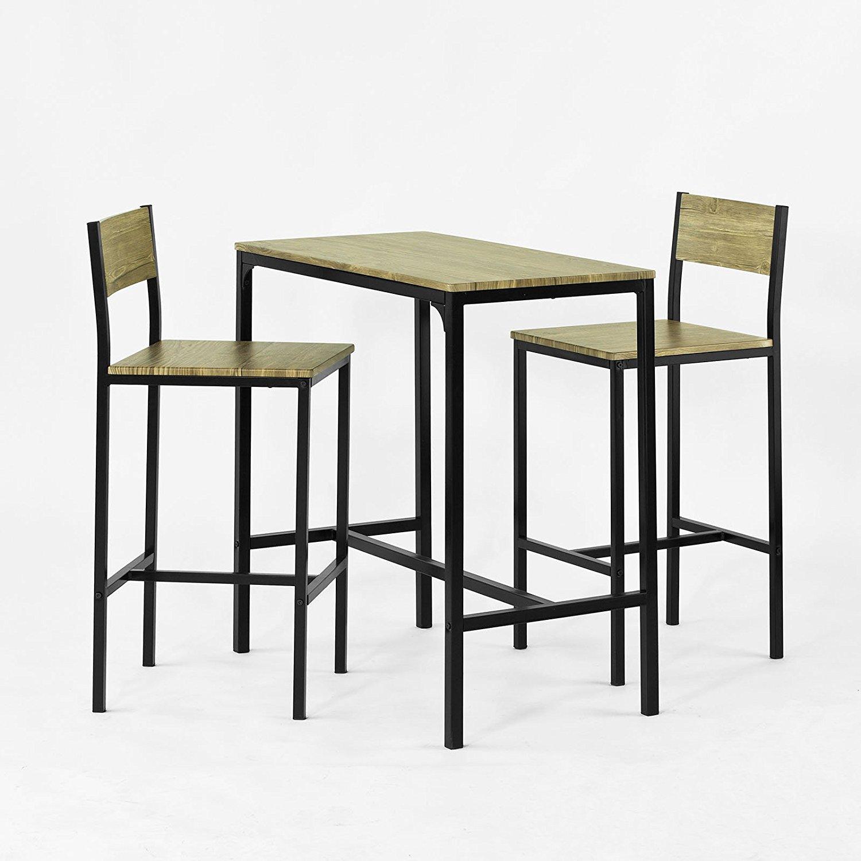Table et chaise de bar pas cher