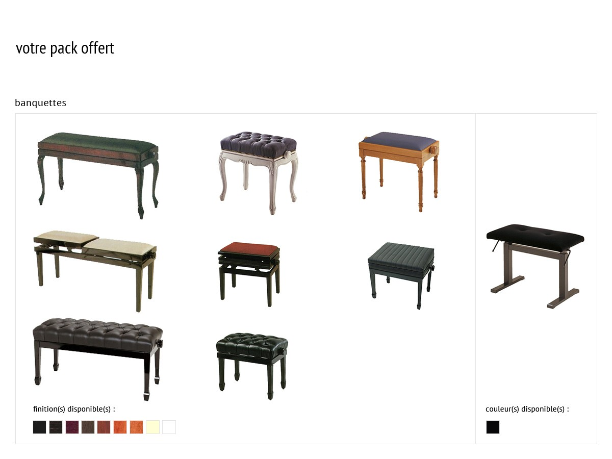 Tabouret piano d'occasion
