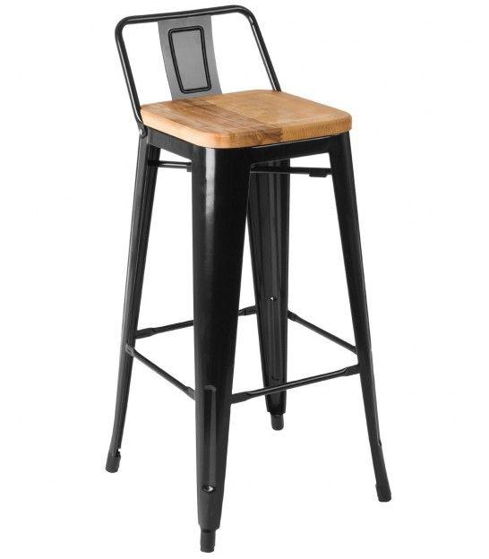 Chaise de bar en metal