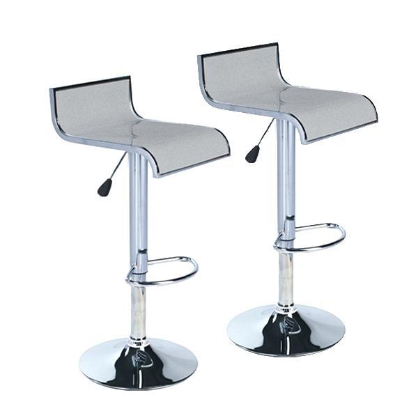 Chaise bar gris