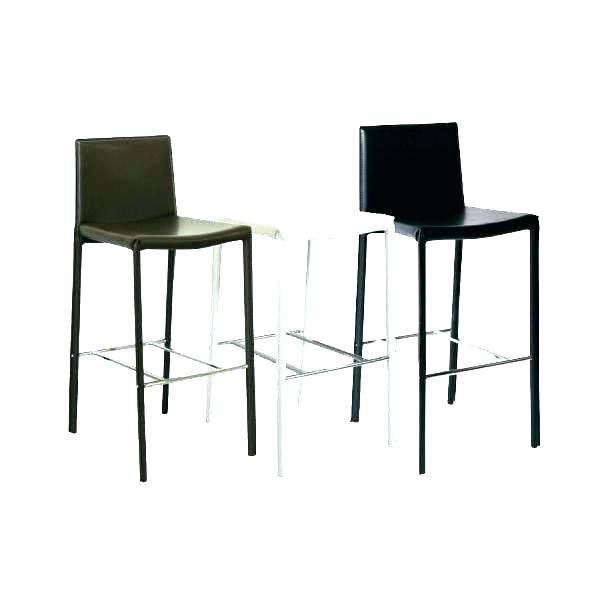 Lot de 2 tabouret de bar noir