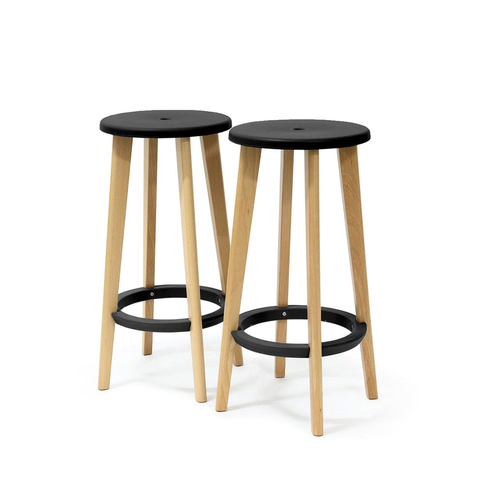 Tabouret bar bois design