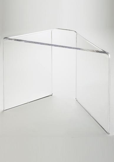 Tabouret de douche transparent - Idée pour la maison et cuisine