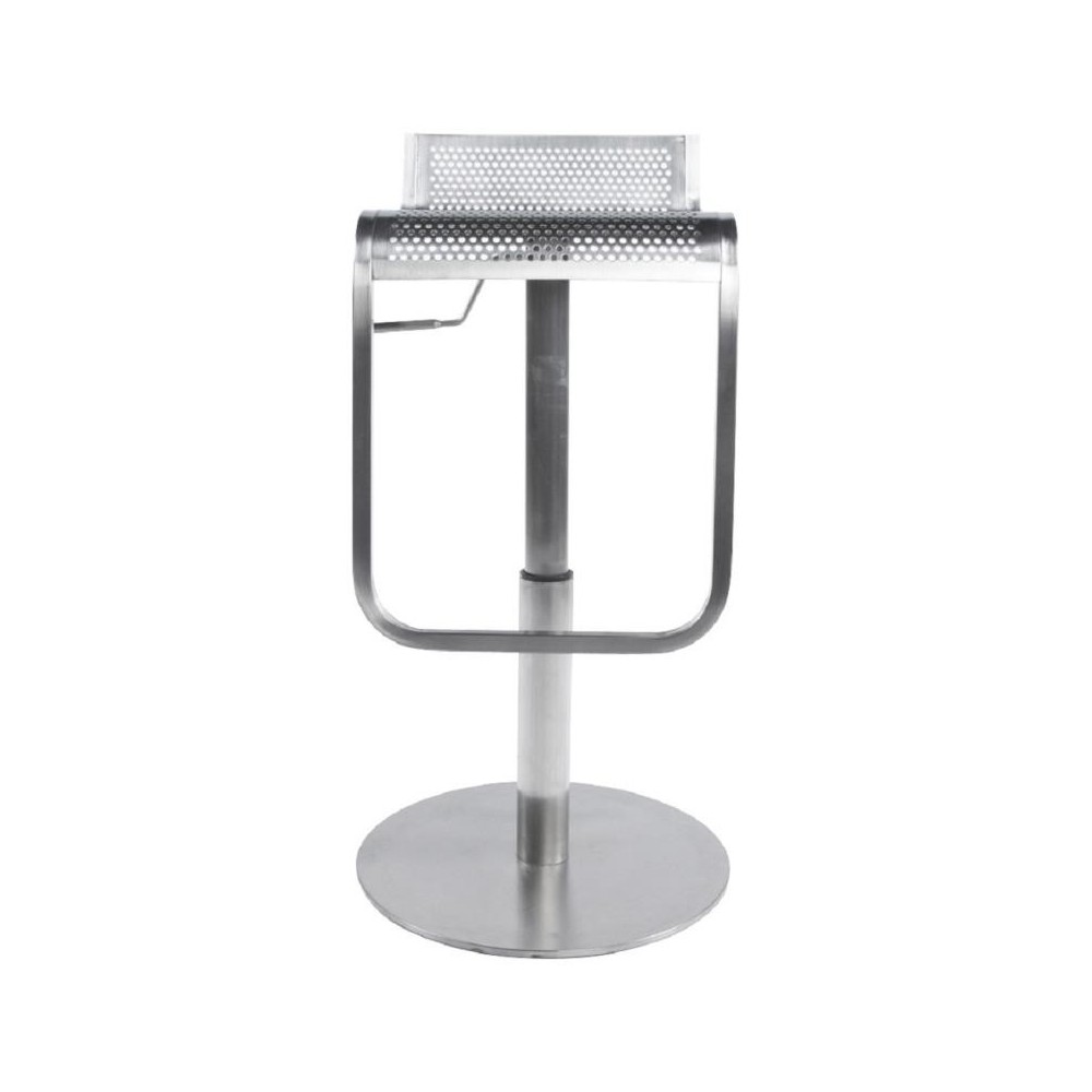 Tabouret bar inox