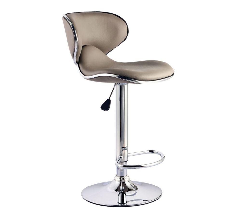tabouret de bar design cuir blanc id e pour la maison et cuisine. Black Bedroom Furniture Sets. Home Design Ideas