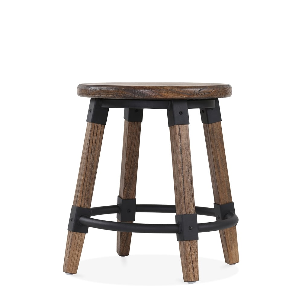 Tabouret bas rond