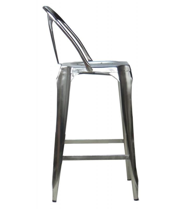 Tabouret de bar industriel 60 cm