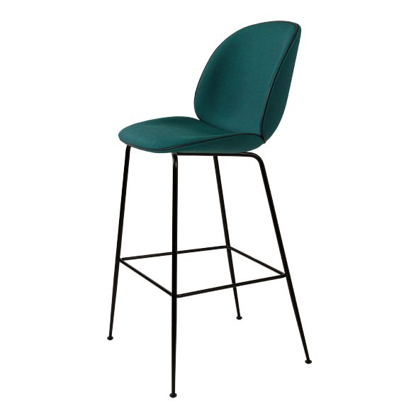 Tabouret de bar velour