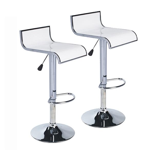 Chaise de bar blanc pas cher