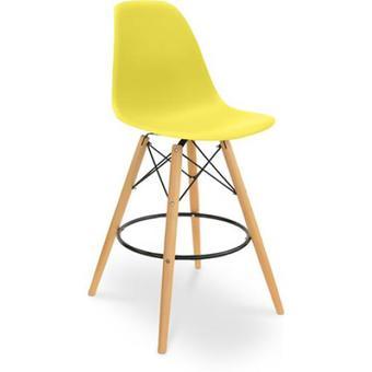 Tabouret design jaune