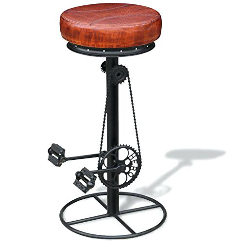 Tabouret de bar marron x 2 elite