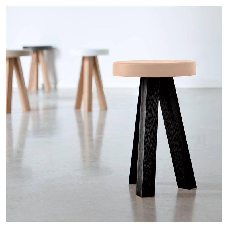 Tabouret design bois massif