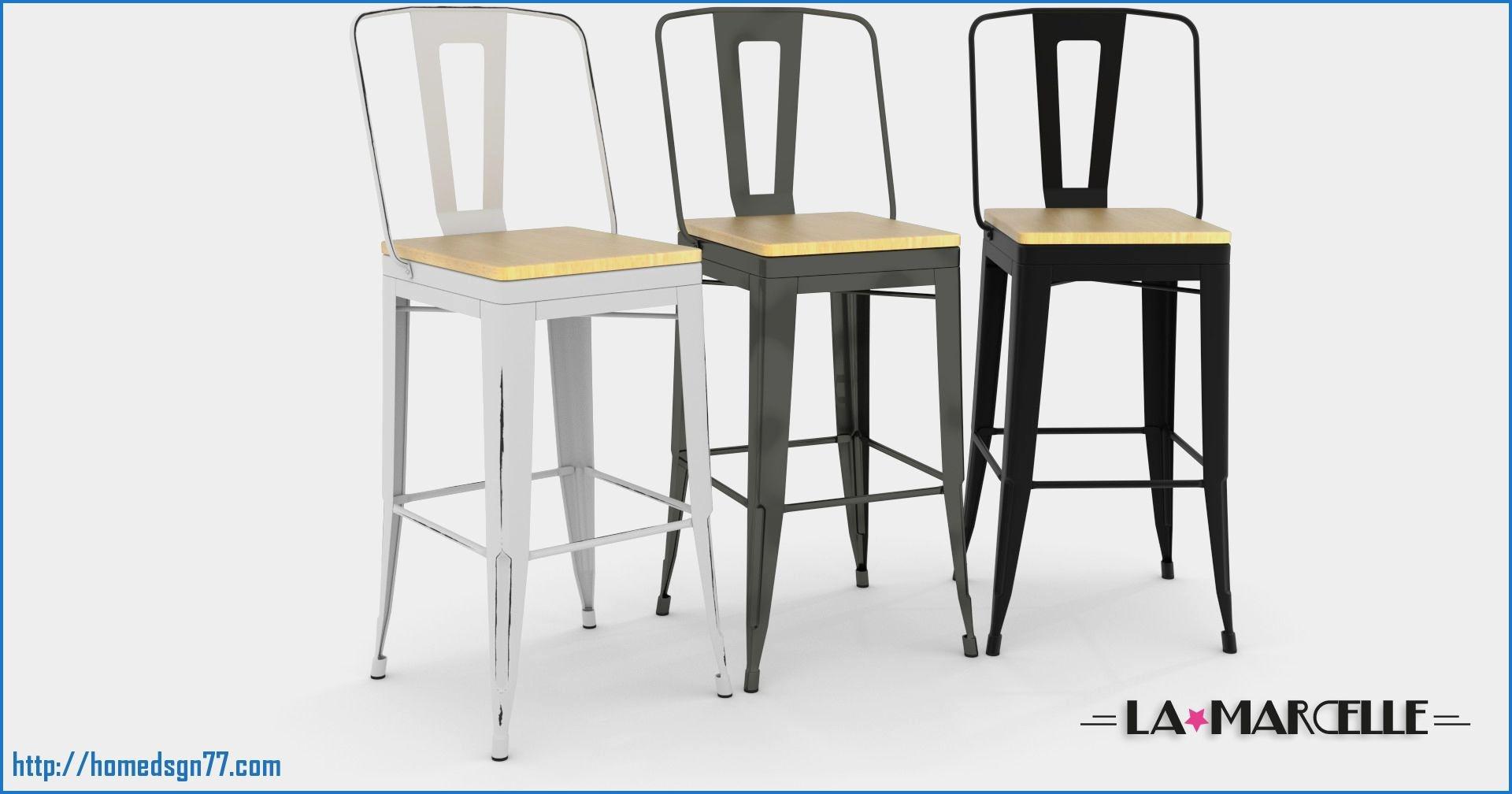 Tabouret de bar metal - Idée pour la maison et cuisine 2f803f2e96e8
