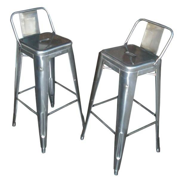 tabouret bar acier metal id e pour la maison et cuisine. Black Bedroom Furniture Sets. Home Design Ideas